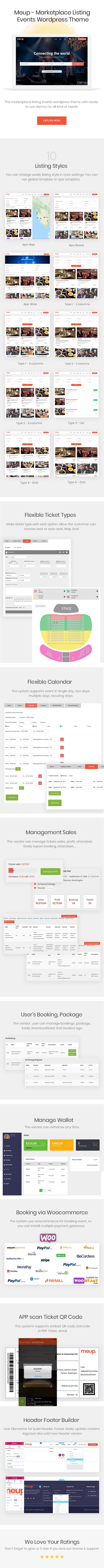 Meup - Marketplace Events WordPress Theme - 4