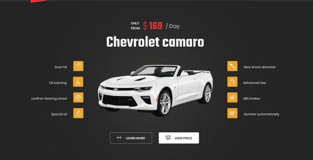Car rental wordpress theme – Booking online | Ireca Template