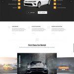 car rental wordpress theme ireca