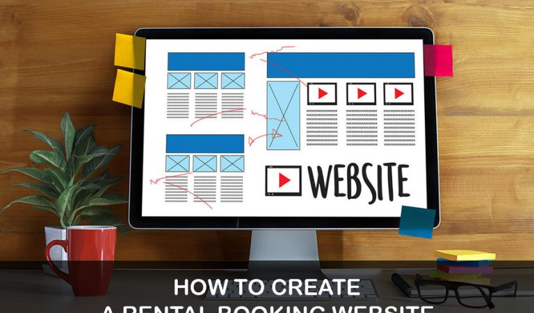 how to create a rental booking website