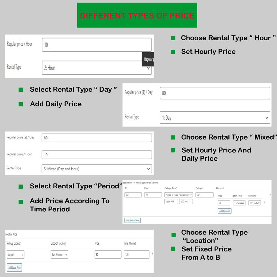 rental booking wordpress plugin