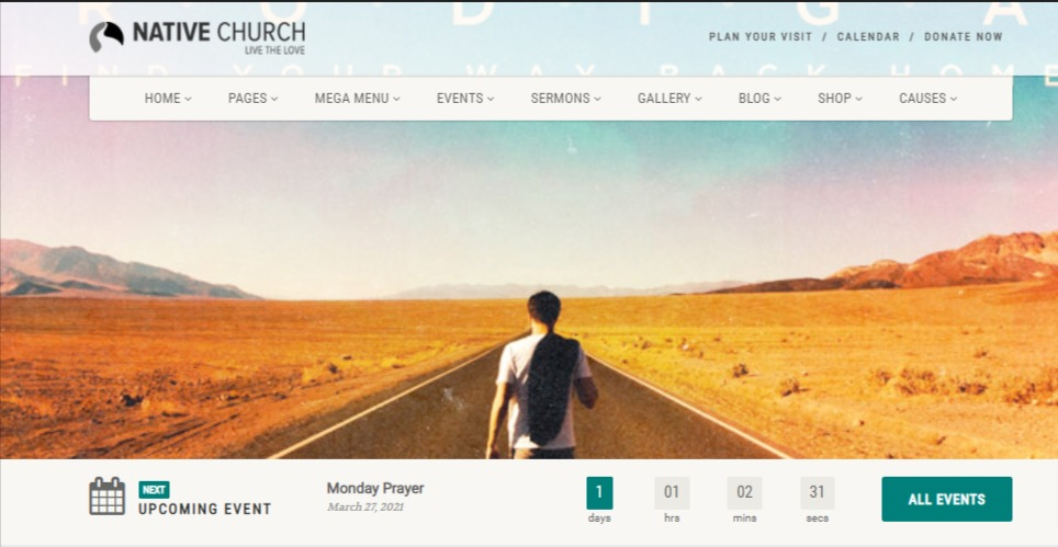 the best charity wordpress theme